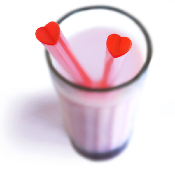 Heart-Shaped-Drinking-Straws