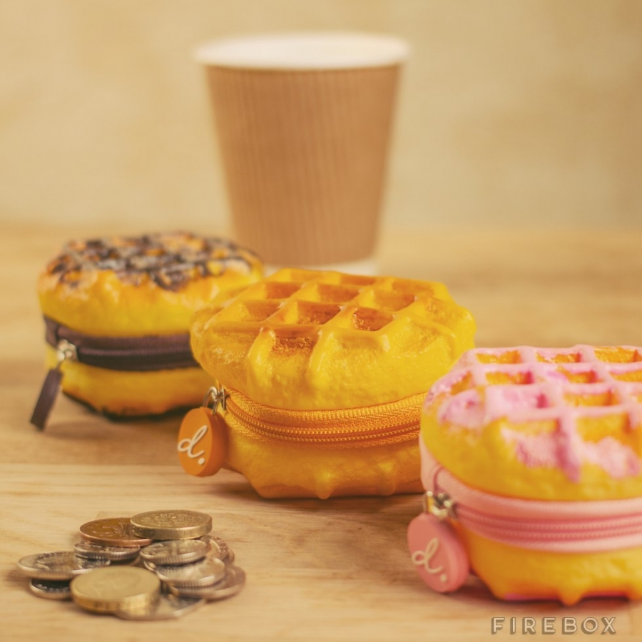 Scented-Belgain-Waffle-Coin-Purse