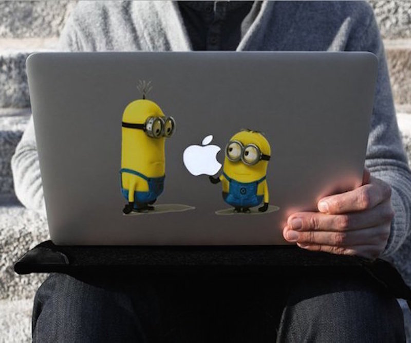 Minion-Macbook-Decal