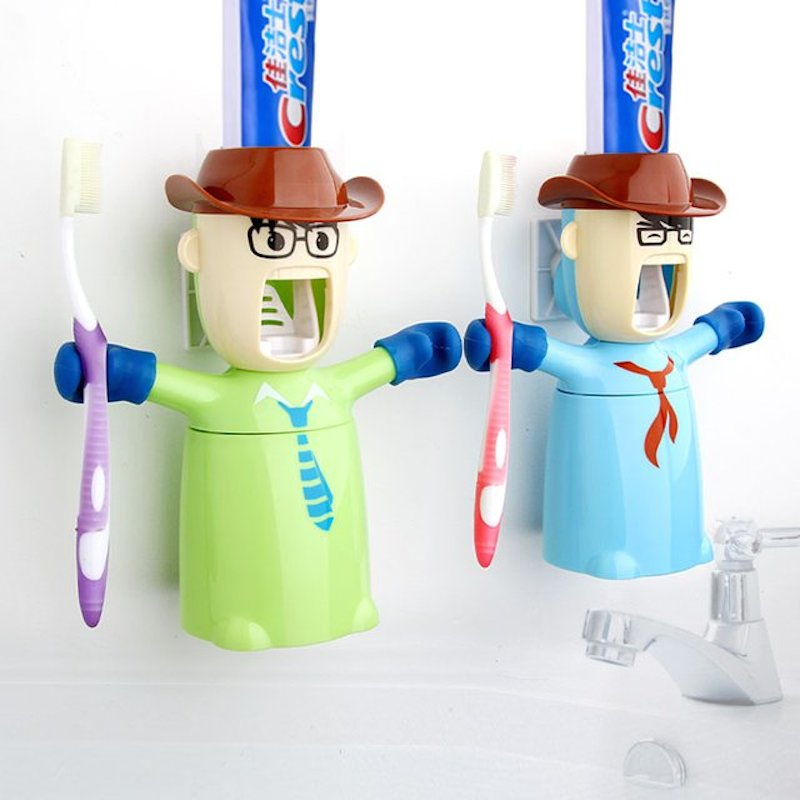 Warriors-Toothpaste-Dispenser-Holder