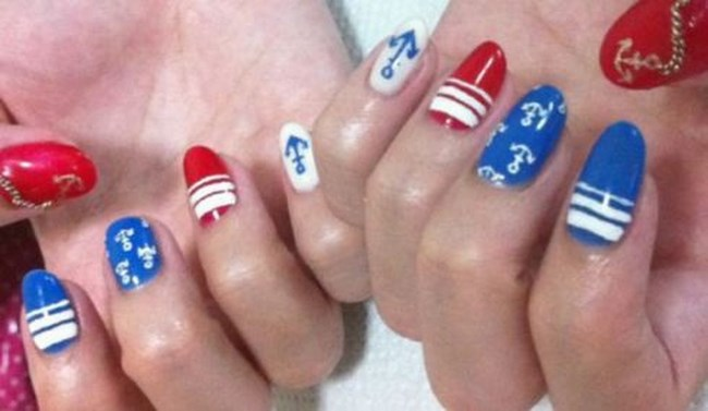 ongles marins