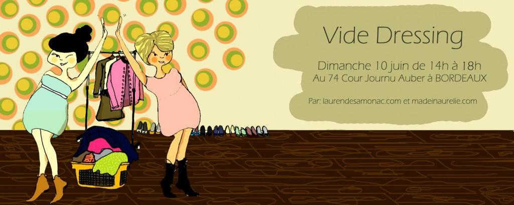 Vide dressing 10 juin Bordeaux