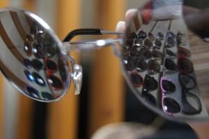 reflet lunette