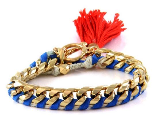 bracelet fil et chaine