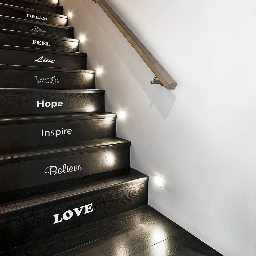 Inspirational-Stair-Sticker-Set