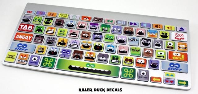 Little-Monsters-MacBook-Keyboard-Skin