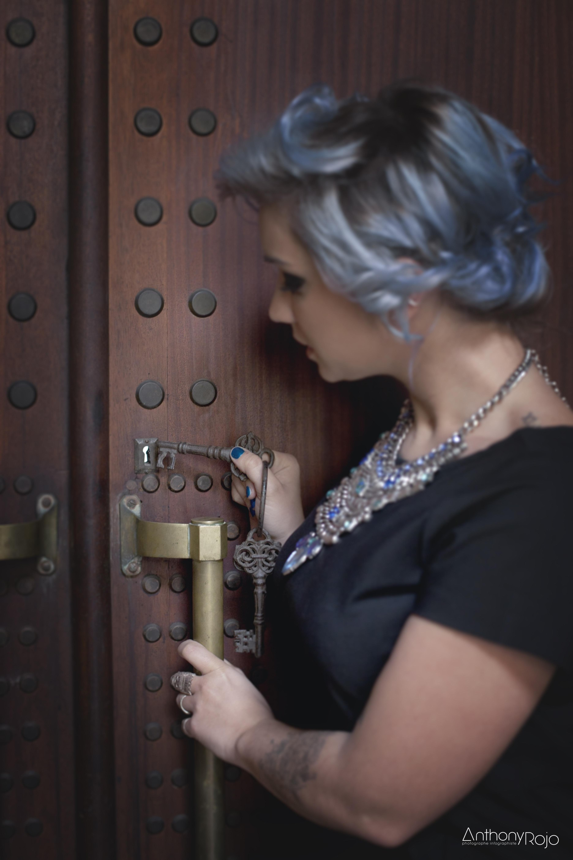 Aurélie clé porte